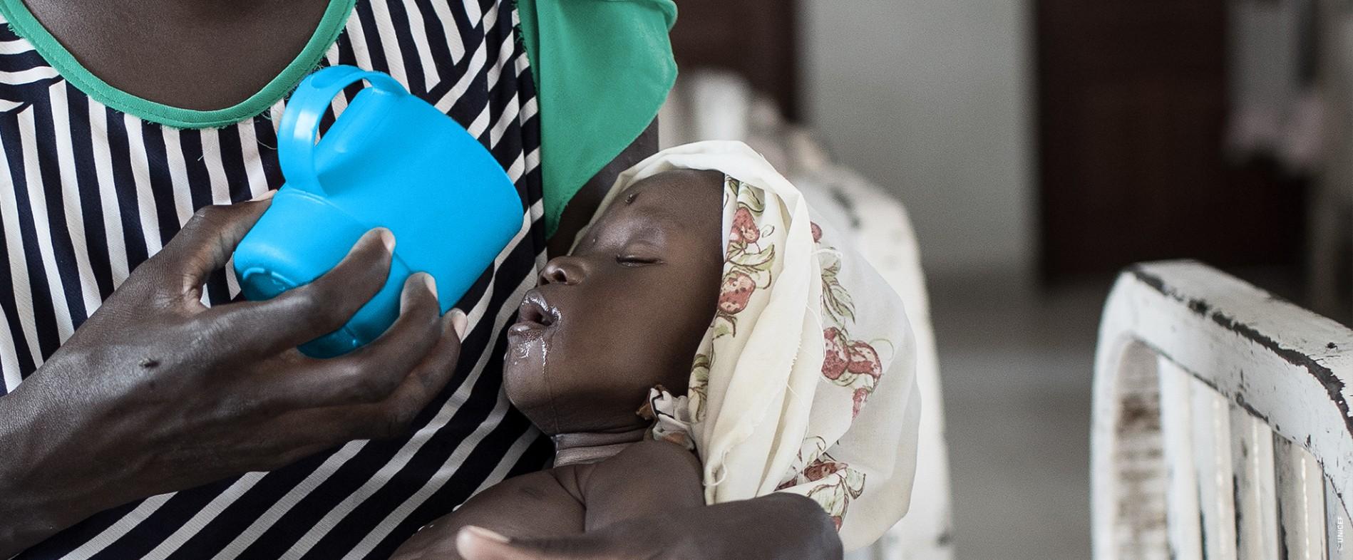UNICEF Polska - Uratuj dziecko w Sudanie Południowym