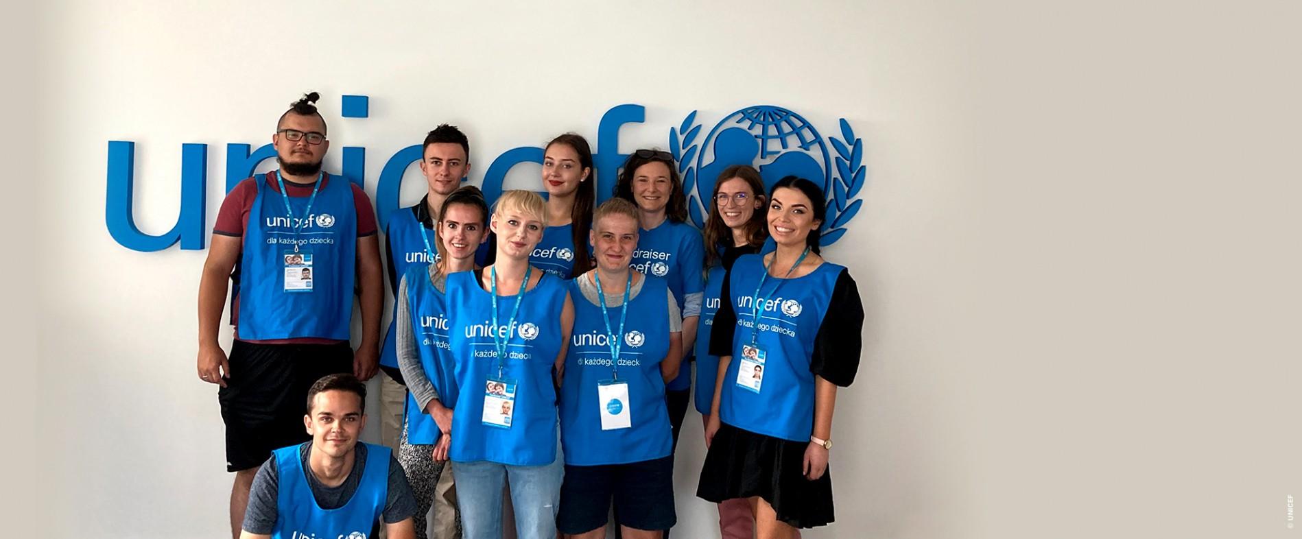 UNICEF Polska - Nasi Fundraiserzy