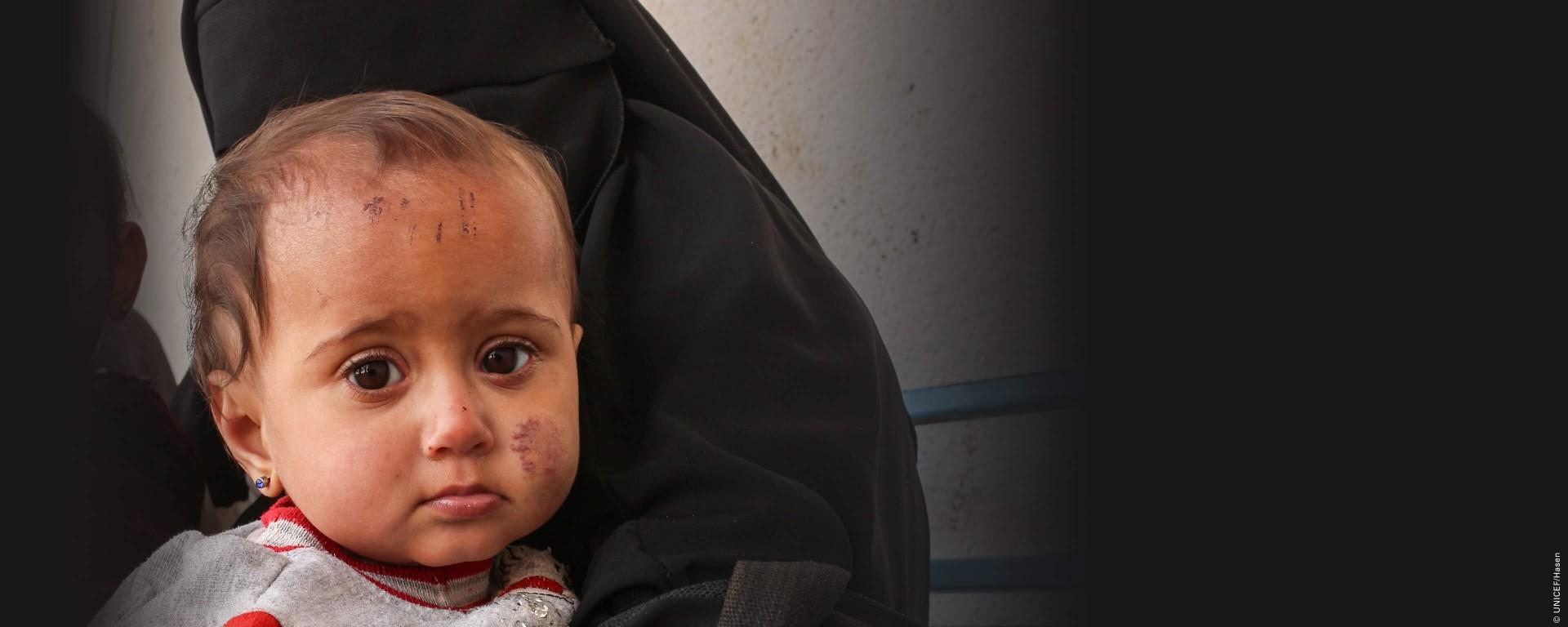 UNICEF Polska -Pomóż dzieciom w Syrii przeżyć wojnę