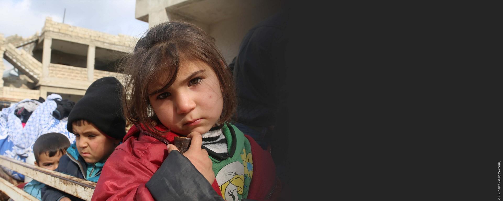Życie dzieci w Syrii zależy od Darczyńców takich jak Ty. Działaj z nami już teraz!