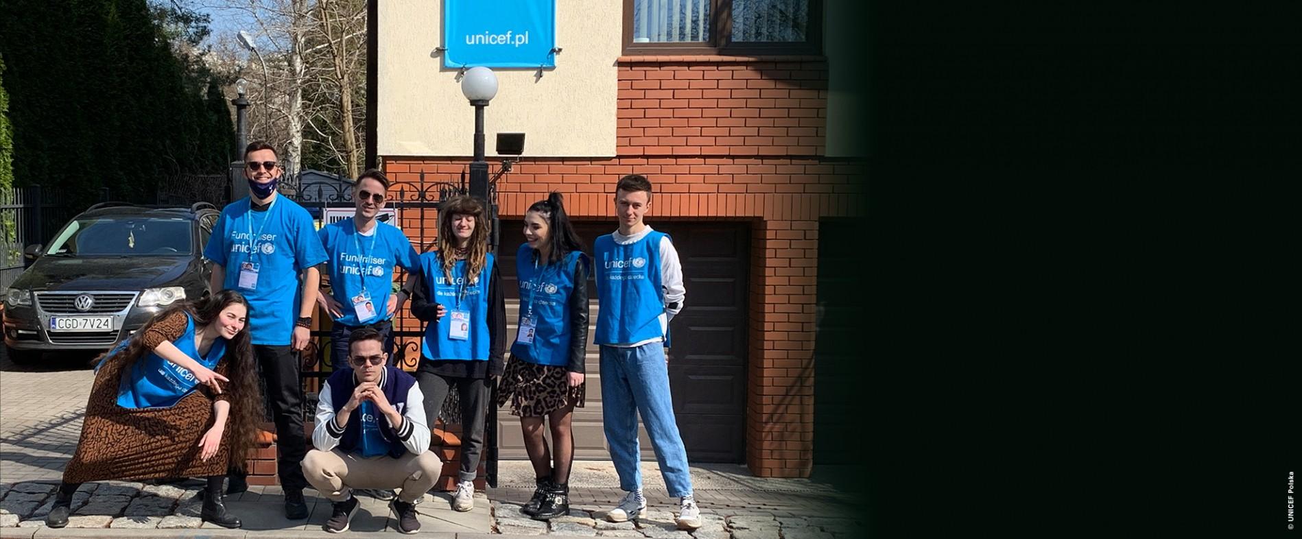 Zostań fundraiserem UNICEF Polska