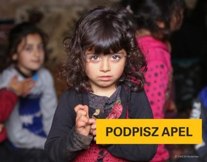 UNICEF Polska - Dzieci w Syrii nie mogą dłużej czekać. Pomóż zakończyć wojnę!