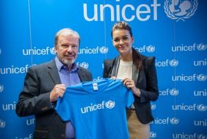 Ambasador Dobrej Woli UNICEF - Agnieszka Radwańska