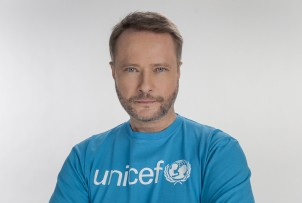 Artur Żmijewski - Ambasador Dobrej Woli UNICEF