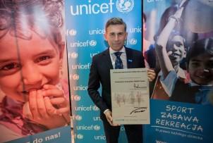 Ambasador Dobrej Woli UNICEF - Robert Korzeniowski