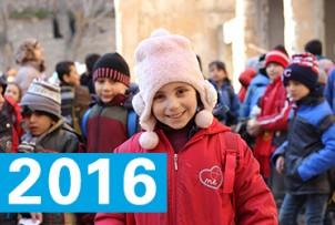 UNICEF Polska - Kalendarium 2016
