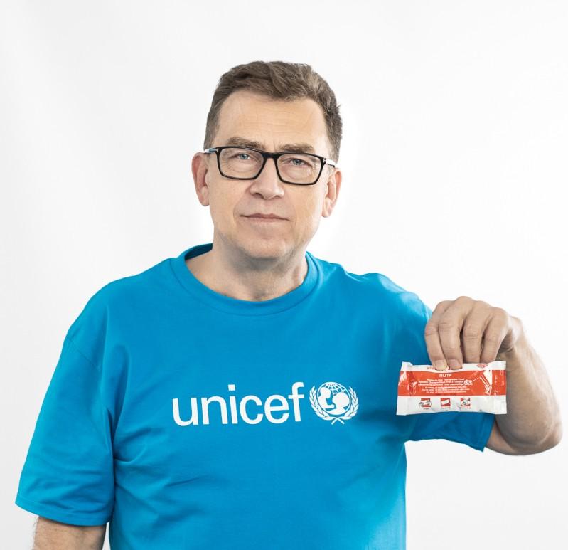 Maciej Orłoś, Przyjaciel UNICEF Polska
