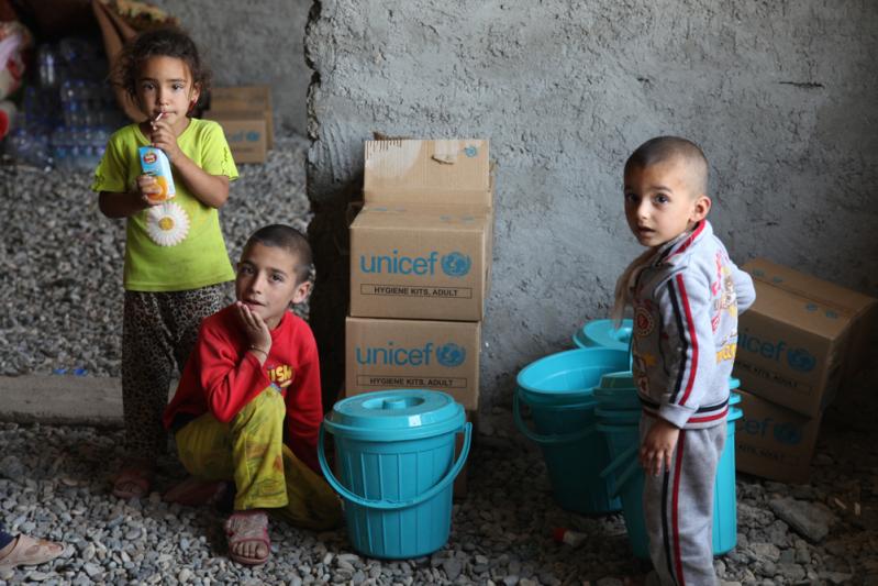 Irak dzieci