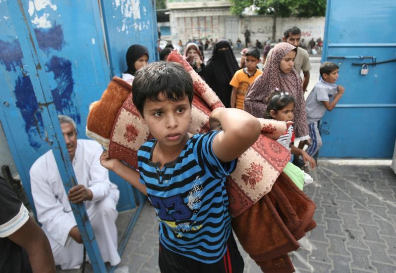 Dzieci w Strefie Gazy UNICEF
