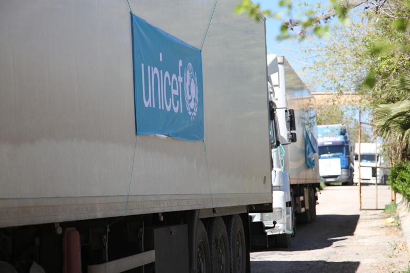 Unicef pomaga uchodźcom - Syria