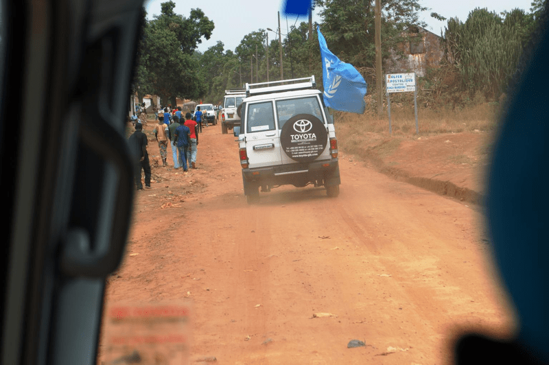 Pracownicy mobilnych zespołów opieki zdrowotnej  UNICEF