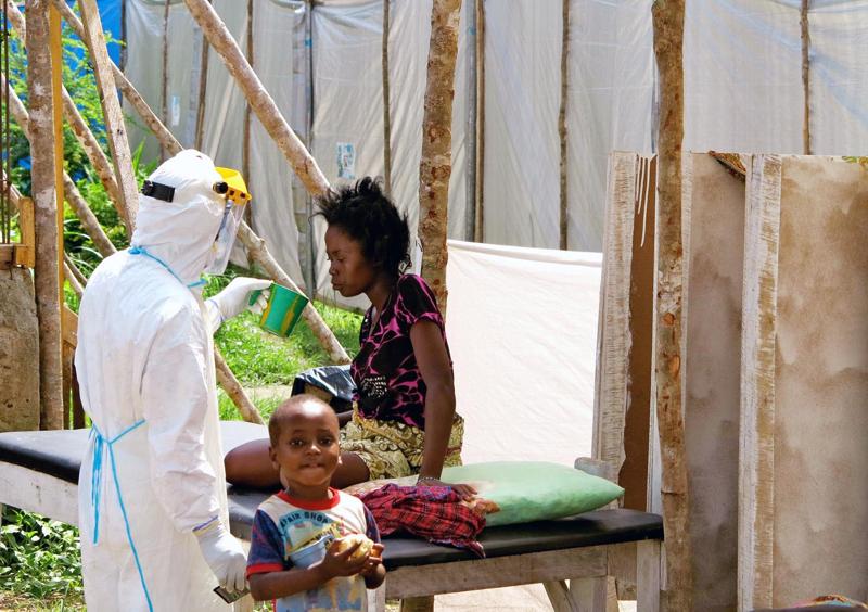 Epidemia wirusa Eboli w Afryce