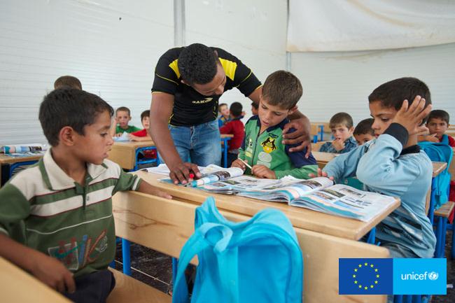 Historie syryjskich uchodźców - kampania Głos Dzieci