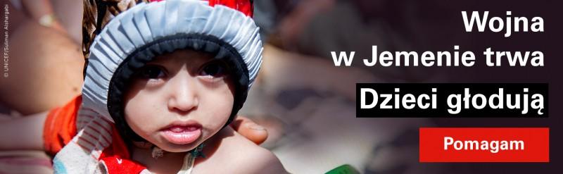 UNICEF Polska - Pomoc dzieciom w Jemenie