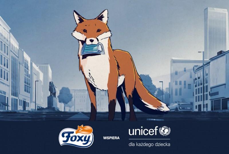 Foxy-wspiera-UNICEF