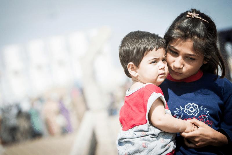 Milion dzieci - uchodzcow z Syrii