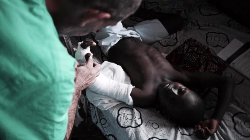 BANGUI, Republika Środkowoafrykańska - Szpital dziecięcy