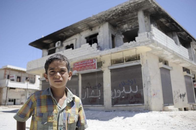 Syria - los dzieci
