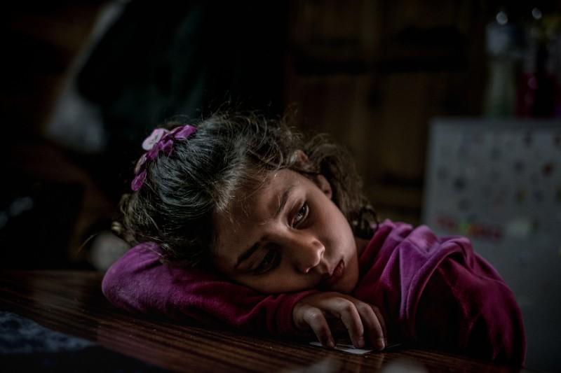 Grecja. Mariem ma 8 lat, pochodzi z Syrii.
