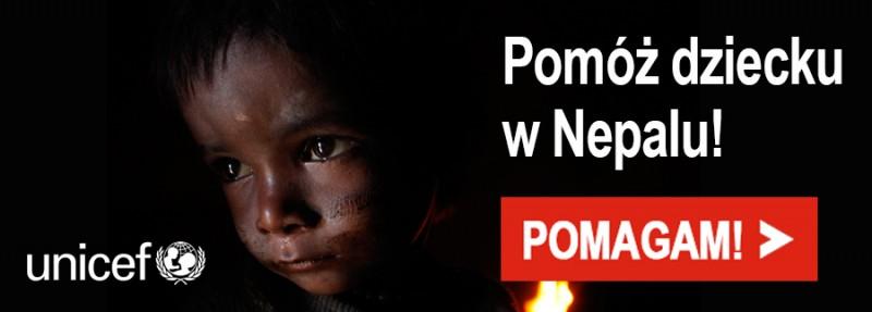 Pomóż dziecku w Nepalu