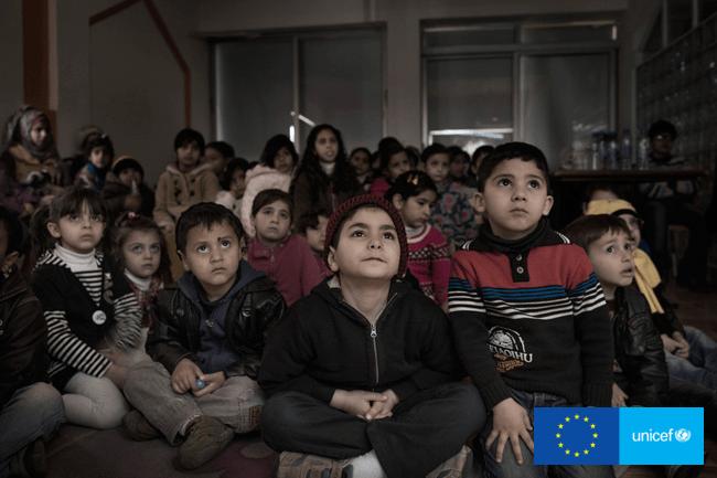 UNICEF Miejsce Przyjazne Dzieciom w Ammanie, stolicy Jordanii.