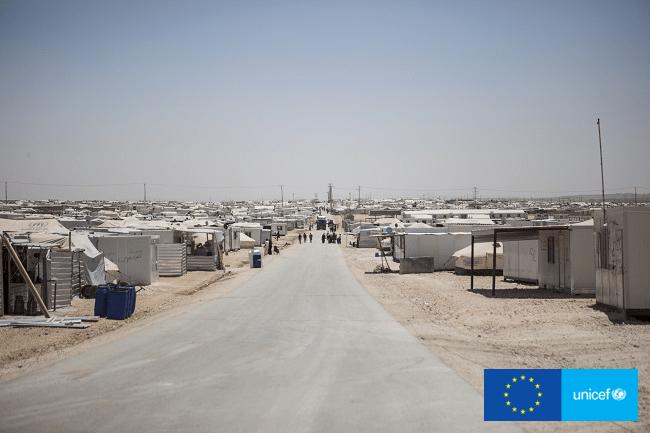 Dla Samera nuda i bezradność jest najgorszą częścią życia w obozie. Obóz Zaatari, Jordania.