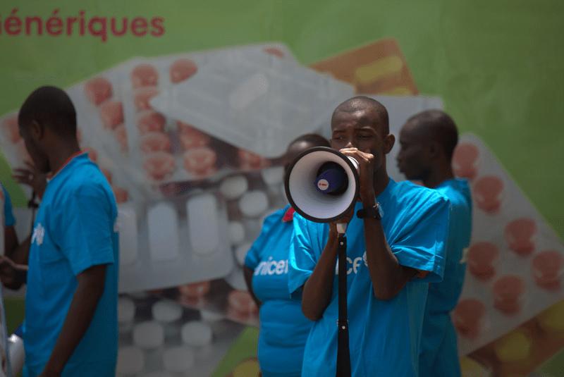 UNICEF walczy z Ebolą w Afryce