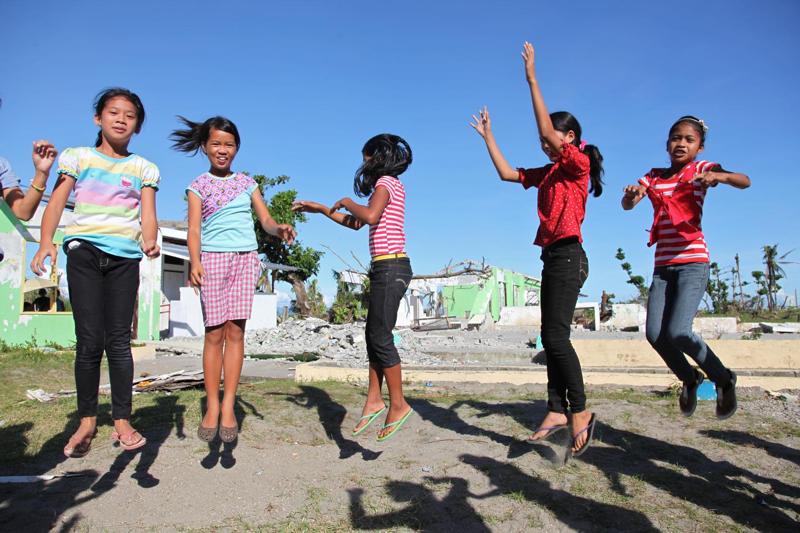 Pół roku po uderzeniu tajfunu Haiyan