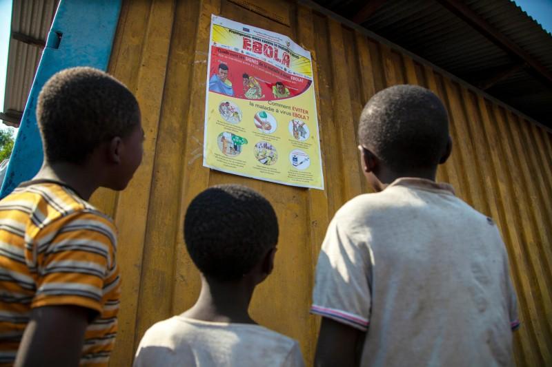 UNICEF walczy z ebolą w Demokratycznej Republice Konga