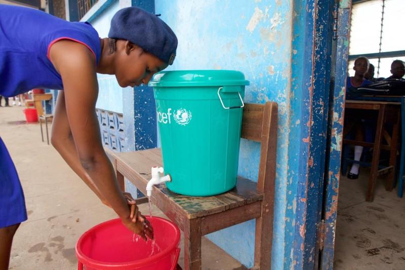 Sierra Leone, programy wodne UNICEF