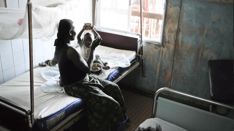 Alexis od czterech miesięcy przebywa w szpitalu. Powoli wraca do zdrowia -  BANGUI, Republika Środkowoafrykańska