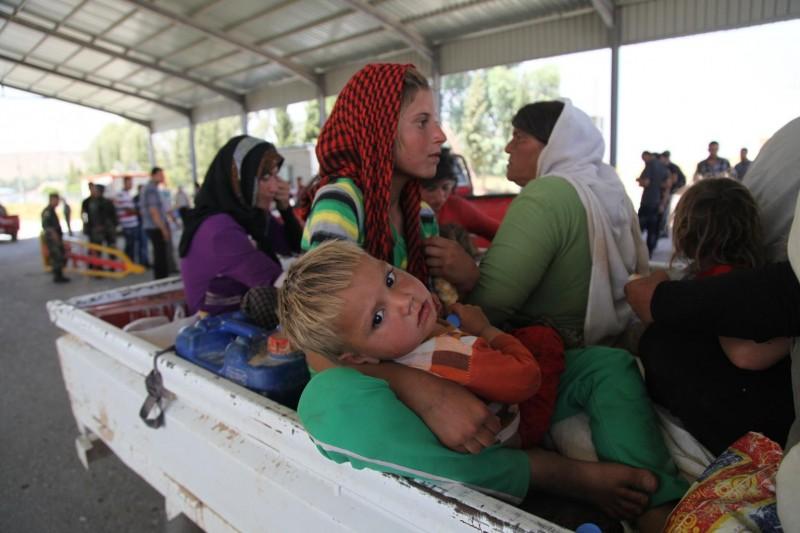 Irak, uchodźcy