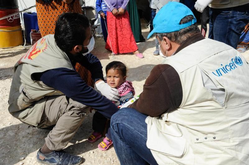 Pomoc UNICEF na wojnie w Syrii