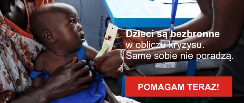 Akcja Ratunkowa UNICEF_Sudan Południowy