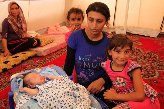 Uciekała z Syrii będąc w zaawansowanej ciąży