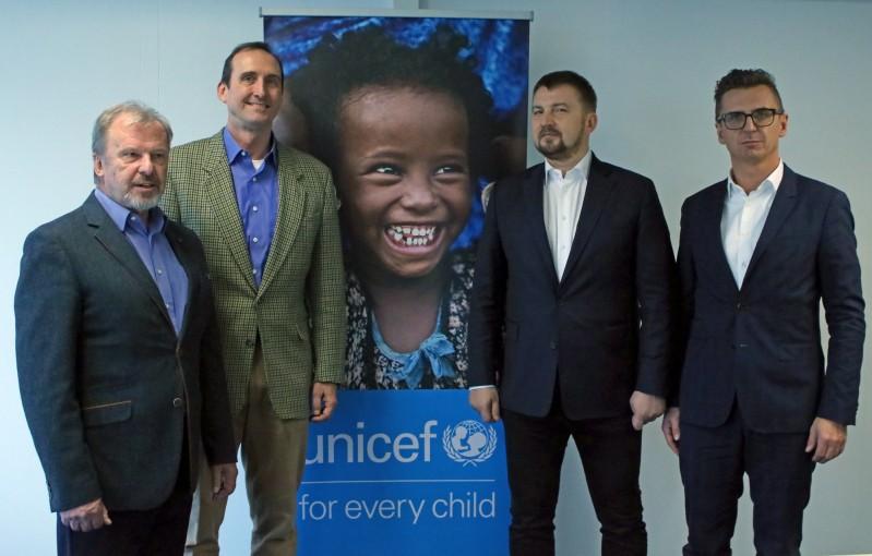 Podpisanie umowy UNICEF i CCC