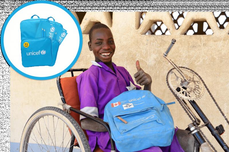 UNICEF Polska - Podaruj dziecku wyprawkę do szkoły!
