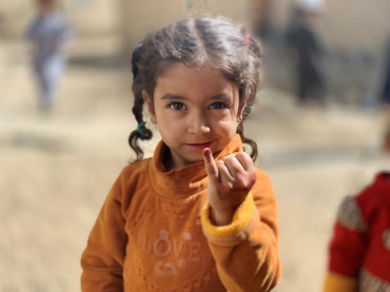 UNICEF Polska - Na pierwszej linii w walce z polio