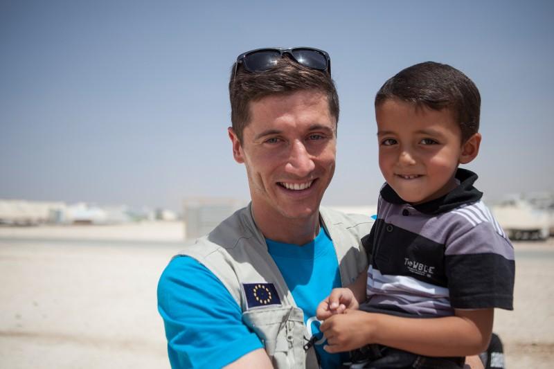 Robert Lewandowski - Ambasador Dobrej Woli UNICEF