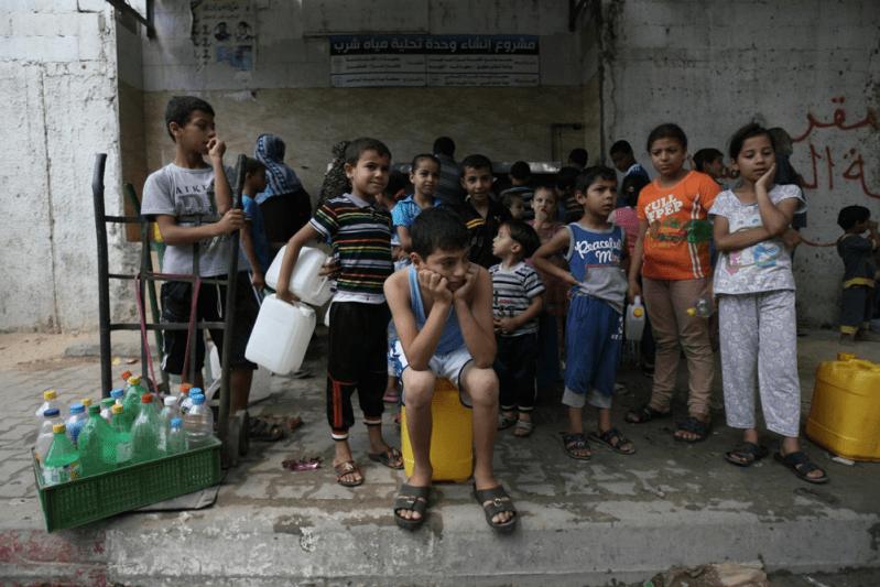 UNICEF chroni dzieci w Strefie Gazy