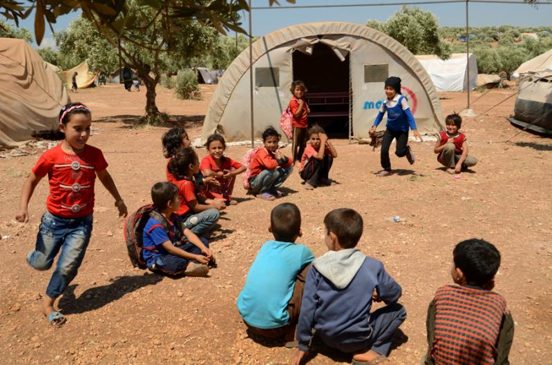 Pomoc Syria ochrona dzieci