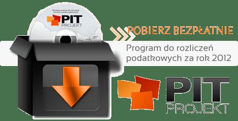 PITProjekt - program do rozliczeń podatkowych za rok 2012