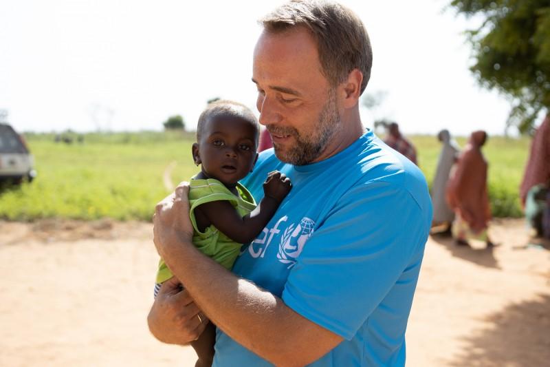 Łukasz Nowicki - Ambasador Dobrej Woli UNICEF