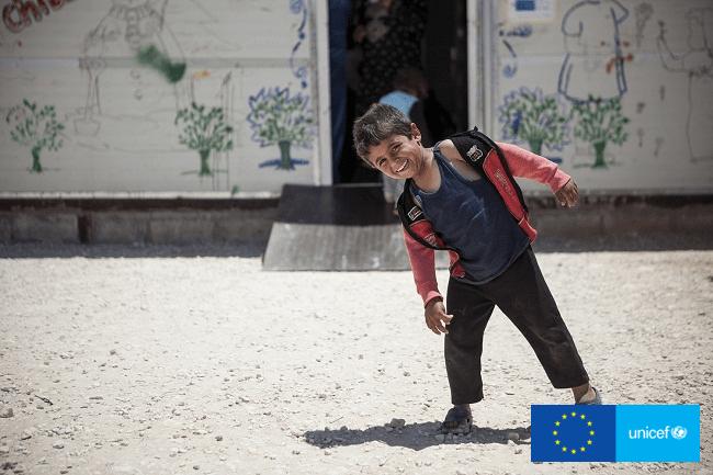 UNICEF i Unia Europejska wspólnie niosą pomoc dzieciom dotkniętym skutkami sytuacji kryzysowych, historia Ahmada