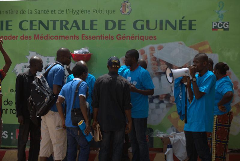 UNICEF walczy z Ebolą w Afryce Zachodniej