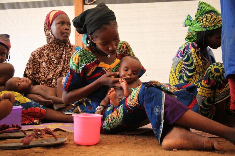 Głód zagraża dzieciom w Republice Środkowoafrykańskiej