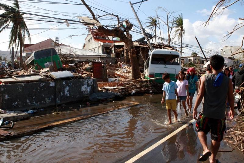 "Tajfun Haiyan ""Nie ma dokąd pójść"""