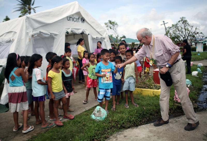 Dzieci na Filipinach nadal cierpią i walczą z traumą