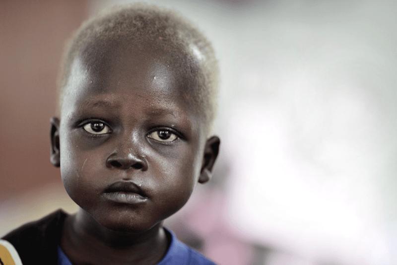 Kampania pomocy dzieciom w Sudanie Południowym UNICEF