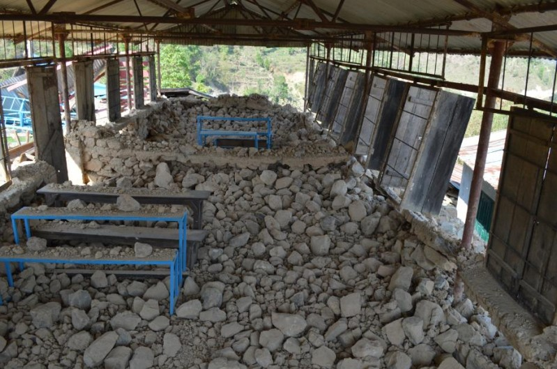 Photo 2 - collapsed schools